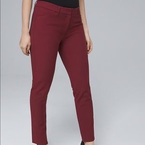 CURVY-FIT COMFORT STRETCH SLIM ANKLE PANTS